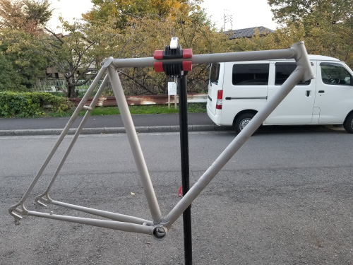 腐食メッキ 再塗装|自転車ペイント&リペア例|名古屋で自転車カスタムペイント塗装&リペア業者は【シンボリ】
