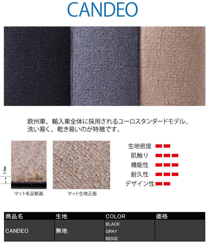CANDEO(カンデオ)|メイドインジャパン(日本製)国産オーダーカーマット|ホイール修理・リペア・塗装なら名古屋市のシンボリ