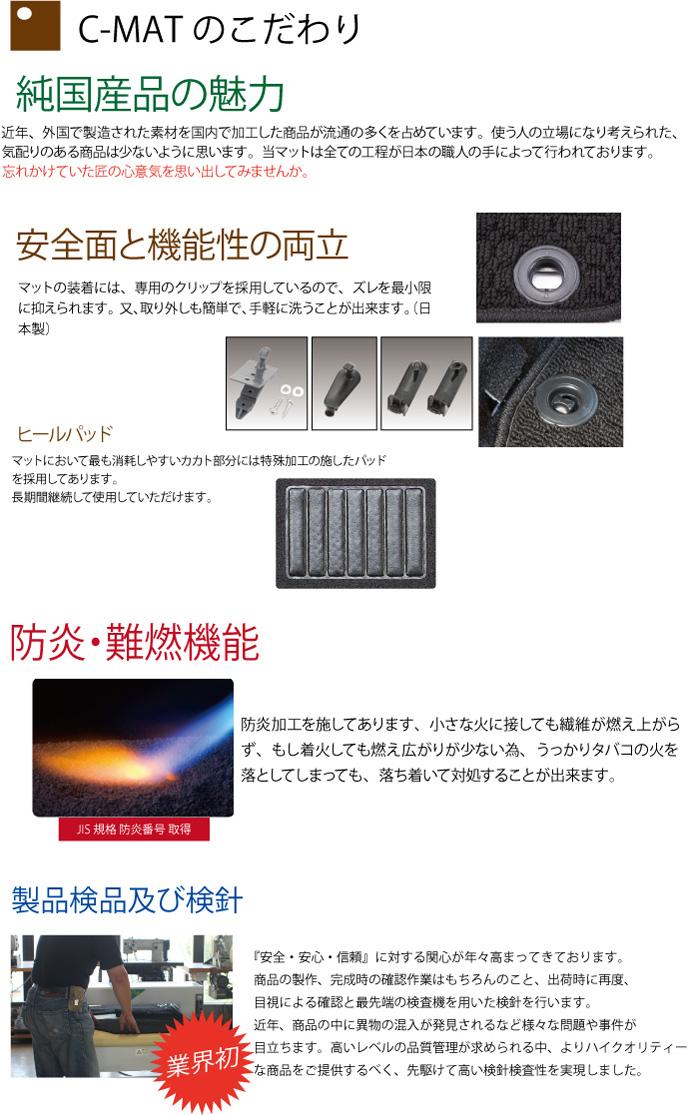 防炎・難炎機能|メイドインジャパン(日本製)国産オーダーカーマット|ホイール修理・リペア・塗装なら名古屋市のシンボリ